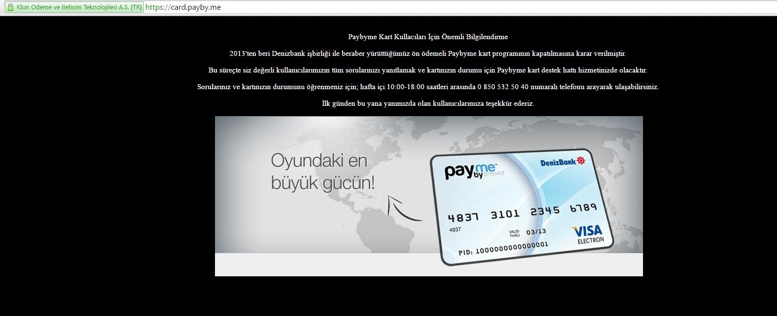 paybymecard